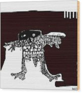 Noctis No. 2 Wood Print by Mark M  Mellon
