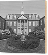 North Park College Nyvall Hall Wood Print by University Icons