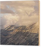 North Valley Panoramic Wood Print by Bill Gallagher