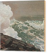 Northeaster Wood Print by Winslow Homer
