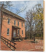 Northwest Indiana Grist Mill Wood Print by Paul Velgos