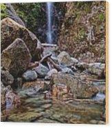 Norvan Falls Wood Print by James Wheeler
