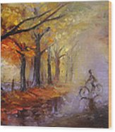 Nostalgia Wood Print by Nelya Shenklyarska