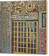 October At Fonthill Castle Wood Print by Susan Candelario