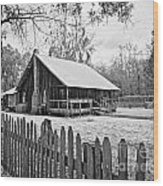 Okefenokee Home Wood Print by Southern Photo
