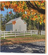 Old Bethel Church 1842 Wood Print by Dan Friend
