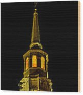 Old Christ Church Wood Print by Louis Dallara
