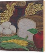 Old Fashioned Goodness Wood Print by Sharon Duguay