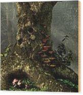Old Man Of The Forest Wood Print by Daniel Eskridge