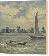 Old Quarantine Station Circa 1857 Wood Print by Aged Pixel