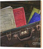 Old School Days Wood Print by Kaye Menner