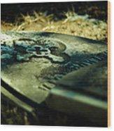 Once Beloved Wood Print by Rebecca Sherman