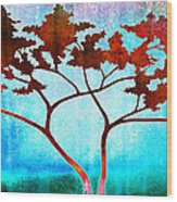 Oneness Wood Print by Jaison Cianelli