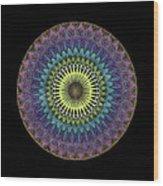 Oneness Wood Print by Keiko Katsuta