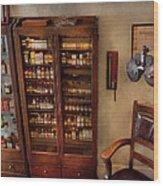 Optometrist - The Optometrists Office Wood Print by Mike Savad
