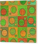 Orange Soup Wood Print by David K Small