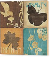 Organic Nature 3 Wood Print by Debbie DeWitt