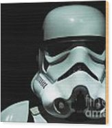 Original Stormtrooper Wood Print by Micah May