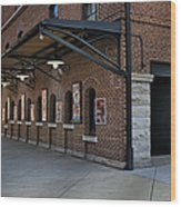 Oriole Park Box Office Wood Print by Susan Candelario