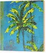 Palm Trees Wood Print by Patricia Awapara