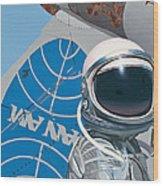 Pan Am Wood Print by Scott Listfield