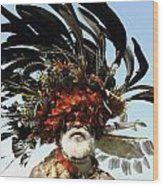 Papua New Guinea, Portrait Wood Print by Jeremy Hunter