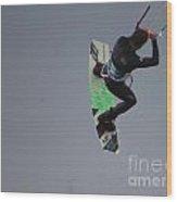 Parasurfer7 Wood Print by Rrrose Pix