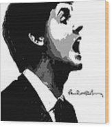 Paul Mccartney No.01 Wood Print by Caio Caldas