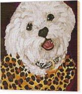 Pebbles Wood Print by Debi Starr