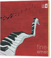 Piano Fun - S01at01 Wood Print by Variance Collections