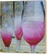 Pink Summer Wood Print by Ben and Raisa Gertsberg