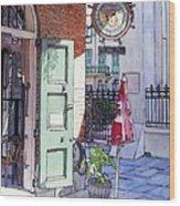 Pirates Alley 161 Wood Print by John Boles