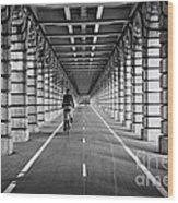 Pont De Bercy Wood Print by Delphimages Photo Creations