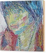 Portrait Of A Boy - Marcus Wood Print by Fabrizio Cassetta