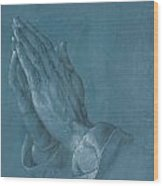 Praying Hands Wood Print by Albrecht Durer