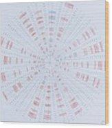Prime Number Pattern P Mod 40 Wood Print by Jason Padgett