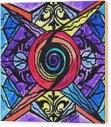 Psychic Wood Print by Teal Eye  Print Store