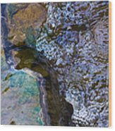 Purl Of A Brook 1 - Featured 3 Wood Print by Alexander Senin