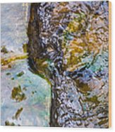 Purl Of A Brook 2 - Featured 3 Wood Print by Alexander Senin