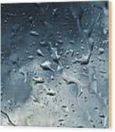 Raindrops Wood Print by Fabrizio Troiani