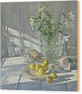 Reflections And Shadows  Wood Print by Timothy  Easton