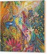 Remembering Yotvata Wood Print by Elena Kotliarker