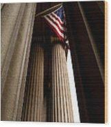 Republic Wood Print by Steven Milner