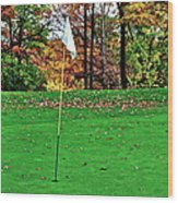 Ridgewood Golf And Country Club Wood Print by Frozen in Time Fine Art Photography