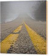 Road To Nowhere Wood Print by Bill Pevlor