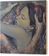Romance With A Chimera Wood Print by Dorina  Costras