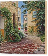 Rue Anette Wood Print by Michael Swanson