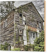 Saddle Store 1 Of 3 Wood Print by Jason Politte