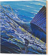 Sail On The Reef Off0082 Wood Print by Carey Chen