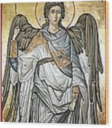 Saint Michael Wood Print by Filip Mihail